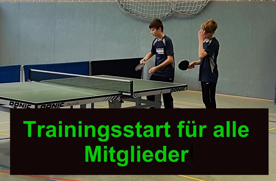 Trainingsstart der SchülerInnen und Jugendliche / Aktuelle Regelungen für alle Sportlerinnen und Sportler